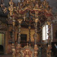 Bimah della Sinagoga di Carmagnola - foto di Daniel Ventura
