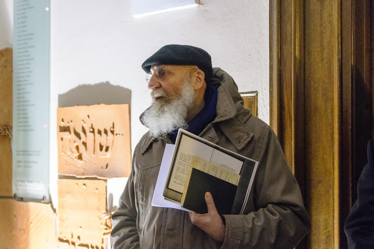 Elio Carmi vicepresidente della Comunità Ebraica casalese