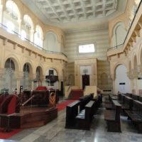 Torino-interno della sinagoga- foto di FLLL