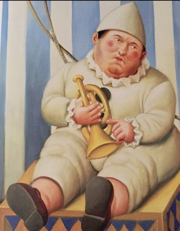 Pierrot - Botero