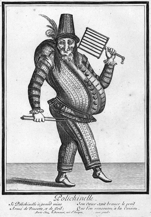 Pulcinella del 1650